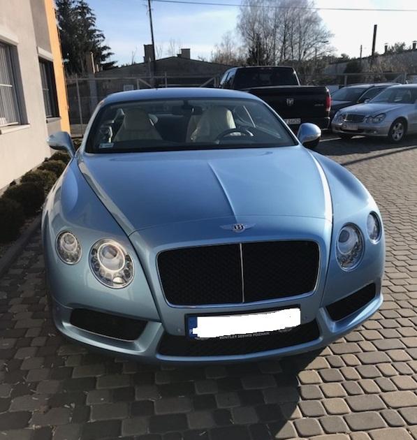 naprawa Bentley